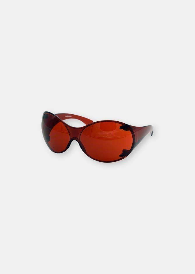 VIKING 1973 FLY SUNGLASSES - U2s BONO - RED